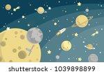 kids graphic illustration.... | Shutterstock .eps vector #1039898899