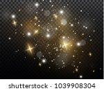 white sparks glitter special... | Shutterstock .eps vector #1039908304