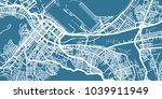detailed vector map of cape... | Shutterstock .eps vector #1039911949