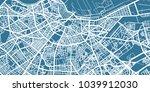 detailed vector map of... | Shutterstock .eps vector #1039912030
