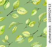 seamless pattern with... | Shutterstock . vector #1039932913