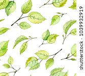 seamless pattern with... | Shutterstock . vector #1039932919