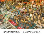 chinese bazaar with miniature... | Shutterstock . vector #1039933414