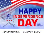 independence day holiday. usa | Shutterstock . vector #1039941199