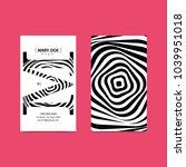creative 90x50 vertical... | Shutterstock .eps vector #1039951018