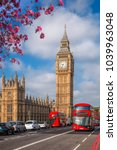 london with red buses against...   Shutterstock . vector #1039963048