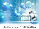design cosmetics product ... | Shutterstock .eps vector #1039969096