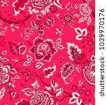 seamless pattern with fantasy...   Shutterstock .eps vector #1039970176