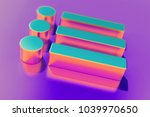candy color list icon on purple ...