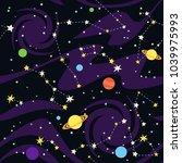 seamless pattern of... | Shutterstock .eps vector #1039975993