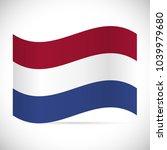 illustration of the flag of... | Shutterstock .eps vector #1039979680