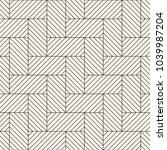 vector seamless pattern. modern ... | Shutterstock .eps vector #1039987204