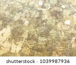 wall with gold plate in the... | Shutterstock . vector #1039987936