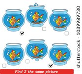 the educational kid matching... | Shutterstock .eps vector #1039989730