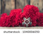 the soviet order of the second... | Shutterstock . vector #1040006050
