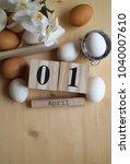 easter holidays background   Shutterstock . vector #1040007610