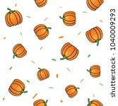 seamless vegetables set of... | Shutterstock .eps vector #1040009293