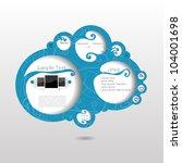 3d web set art page form sign...   Shutterstock .eps vector #104001698