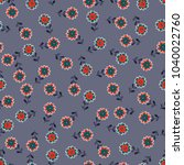simple cute pattern in small...   Shutterstock .eps vector #1040022760