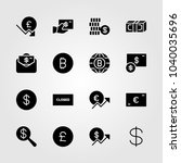 sign icons set. vector... | Shutterstock .eps vector #1040035696
