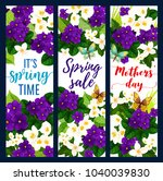 mother day and spring holiday... | Shutterstock .eps vector #1040039830