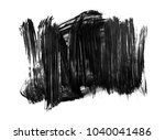 brush stroke and texture. smear ...   Shutterstock . vector #1040041486