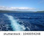 scene of tranquility island ... | Shutterstock . vector #1040054248