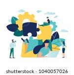 vector illustration. creative... | Shutterstock .eps vector #1040057026