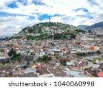 Virgin Of Quito Ecuador Aerial...