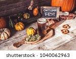 american craft beer   Shutterstock . vector #1040062963
