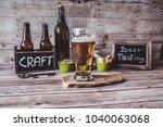 american craft beer | Shutterstock . vector #1040063068