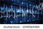 binary options chart | Shutterstock . vector #1040064484