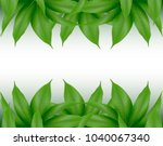 mango leaves background for... | Shutterstock .eps vector #1040067340