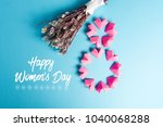 happy international women s day ...   Shutterstock . vector #1040068288