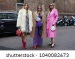 milan  italy   february 21 ...   Shutterstock . vector #1040082673