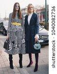 milan  italy   february 21 ...   Shutterstock . vector #1040082736