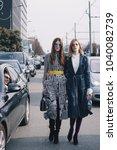 milan  italy   february 21 ...   Shutterstock . vector #1040082739