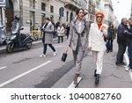 milan  italy   february 21 ... | Shutterstock . vector #1040082760