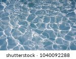 surface of blue water in... | Shutterstock . vector #1040092288