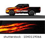 truck and vehicle graphic... | Shutterstock .eps vector #1040119066