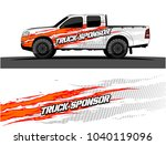 truck and vehicle graphic... | Shutterstock .eps vector #1040119096