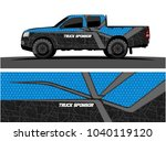 truck and vehicle graphic... | Shutterstock .eps vector #1040119120