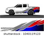 truck and vehicle graphic... | Shutterstock .eps vector #1040119123