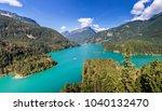 diblo lake  north cascades... | Shutterstock . vector #1040132470