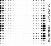 grunge halftone black and white ... | Shutterstock . vector #1040142490