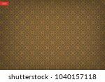thai pattern background of... | Shutterstock .eps vector #1040157118