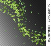 vector abstract foliage... | Shutterstock .eps vector #1040168440