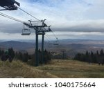 Chairlift In The Mont Tremblan...