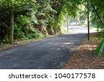 Turn left road of village