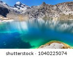 beautiful mountains landscapes... | Shutterstock . vector #1040225074